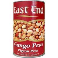 East End Gungo Peas Tin 12x400g