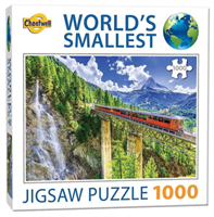 Mini Puzzle, Matterhorn Switzerland 42*29cm 1000 brikker