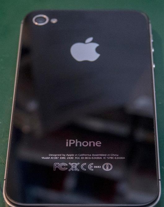 iPhone 4s bakside