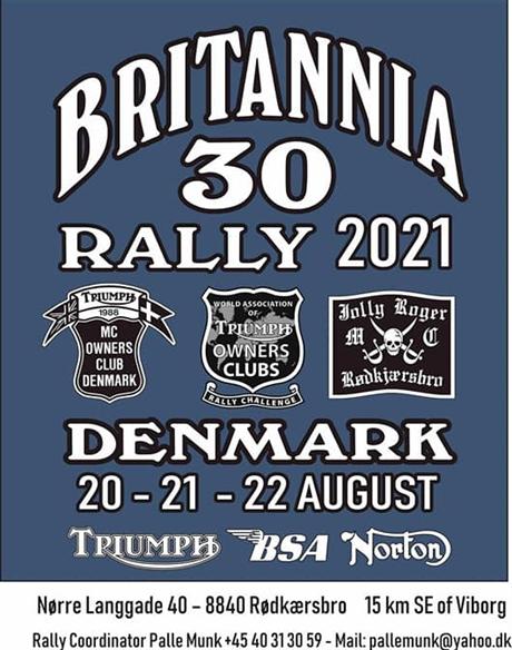 Britannia Rally 2021 Danmark