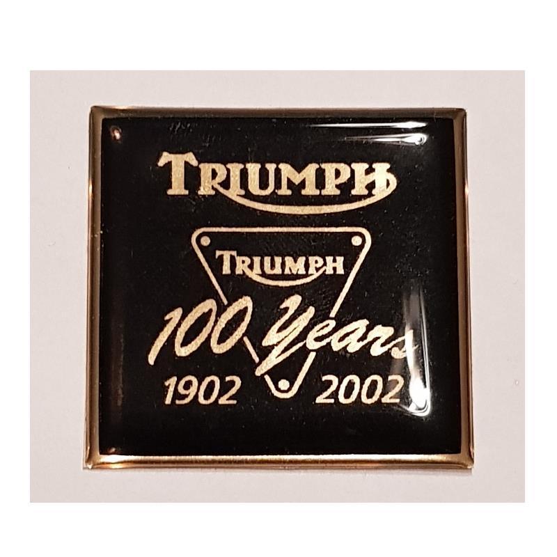 Kupoldekal Triumph 100 Years