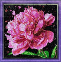 Diamond Painting, Pion 30*30cm (AC821) GLITTER