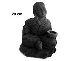 Shaolin monk - Relax svart 20cm (8 pack)
