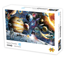 Mini Puzzle, Space Traveler42*29,7cm 1000 brikker