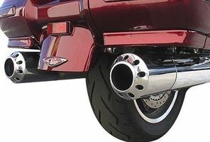 Honda Goldwing 1800 Billet Exhaust Tips