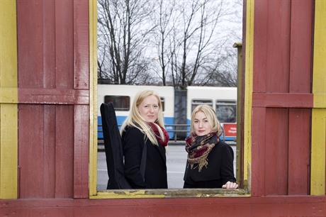 Linnea och Elin Ericsson. Foto: Stéphane Maréchal
