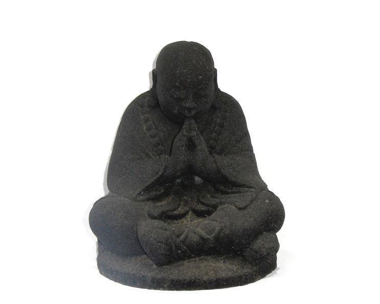 Shaolin monk - Svart 15cm (4 pack)