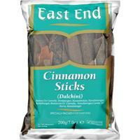 East End Cinnamon Sticks (Dalchini) 6x400g