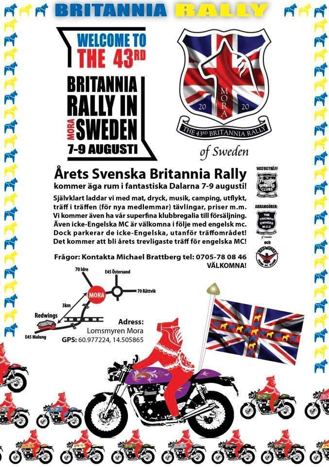 Britannia Rally 2020
