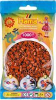 Hama perler Midi, Rødbrun 207-20 1000stk