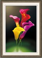Diamond Painting, Calla 42*62cm (H0573) DPR