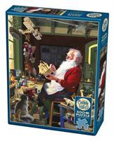 Puslespill Santa's Workbench, 500 brikker
