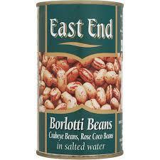 East End Rose Coco Beans Tin 12x400g