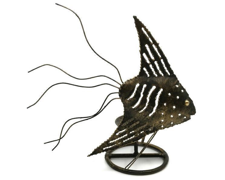 Smide - Ljusstake fisk II (12 pack)