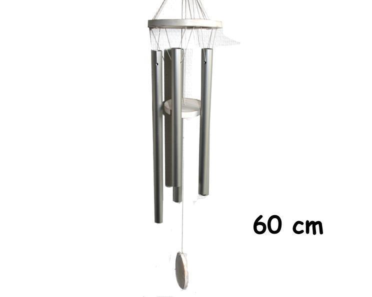 Vindspel - Oval vit 60cm (6 pack)