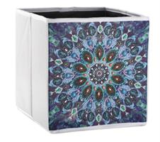 Diamond Painting, Dekorert utstyrsboks Mandala
