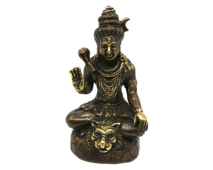 Brons - Shiva Mahadewa 14cm (2 pack)