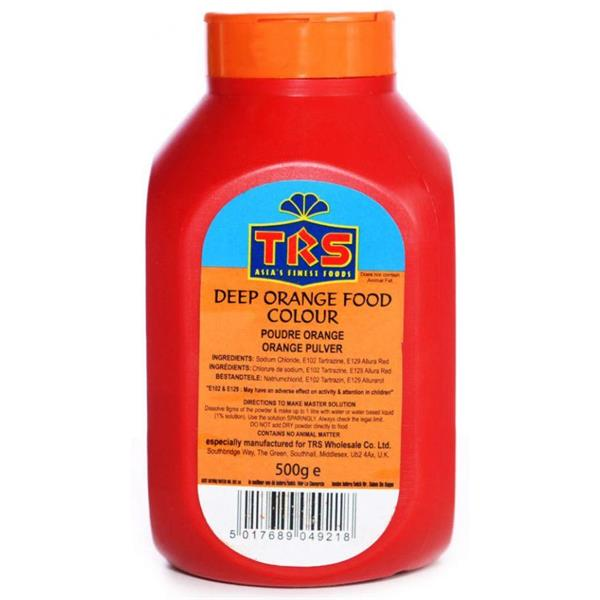 Trs Deep Orange Colouring Powder 1x500g