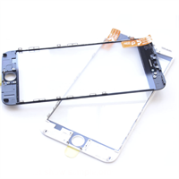 Glass/Ramme & OCA - iPhone 7 - Wh