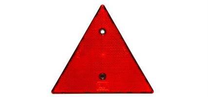 Refleks rød trekant