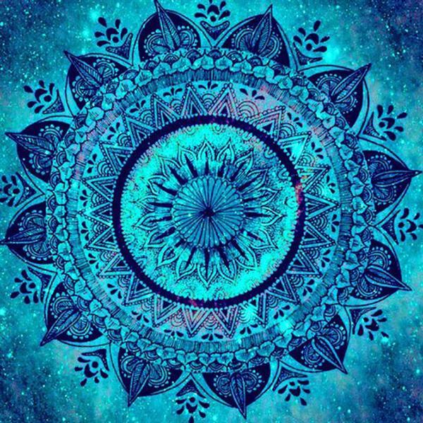 Diamond Painting, Mandala 50*50cm (CANX717) FPR