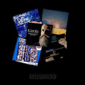 KKJMK, Kristillinen musiikki, Hengellinen musiikki