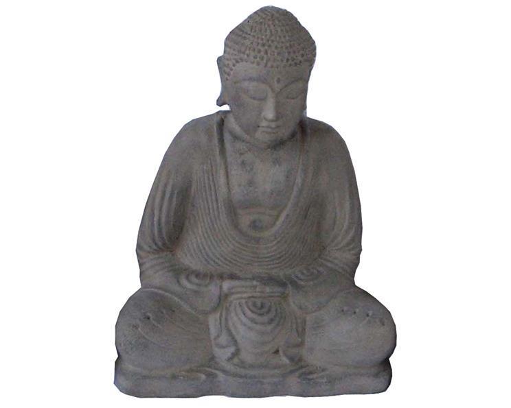 Buddha - Grå 15cm (6 pack)