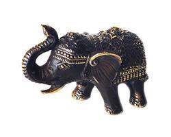 Brons - Elefant 11cm (6 pack)