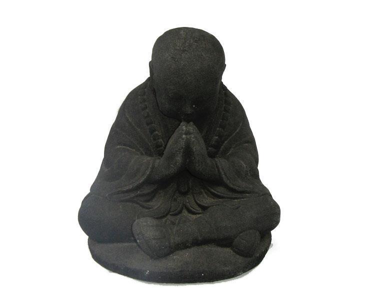Shaolin monk - Svart 20cm (4 pack)