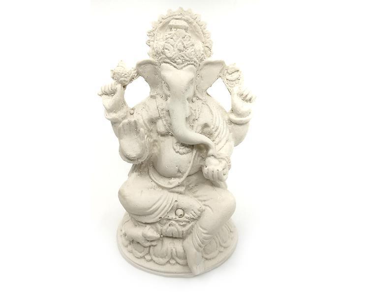 Ganesha - Vit 10cm (6 pack)