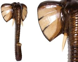 Mask - Elefant 80cm (2 pack)