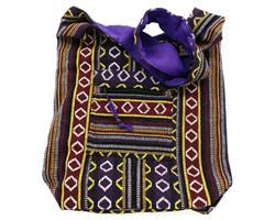 Väska - Bomull lila (3 pack)