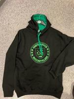Hoddie grön