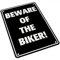 Bike It  Parking Sign - Beware Of The Biker