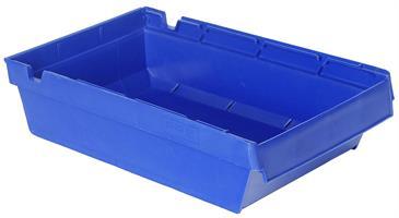 Lagerskuff 500x230x100mm blå