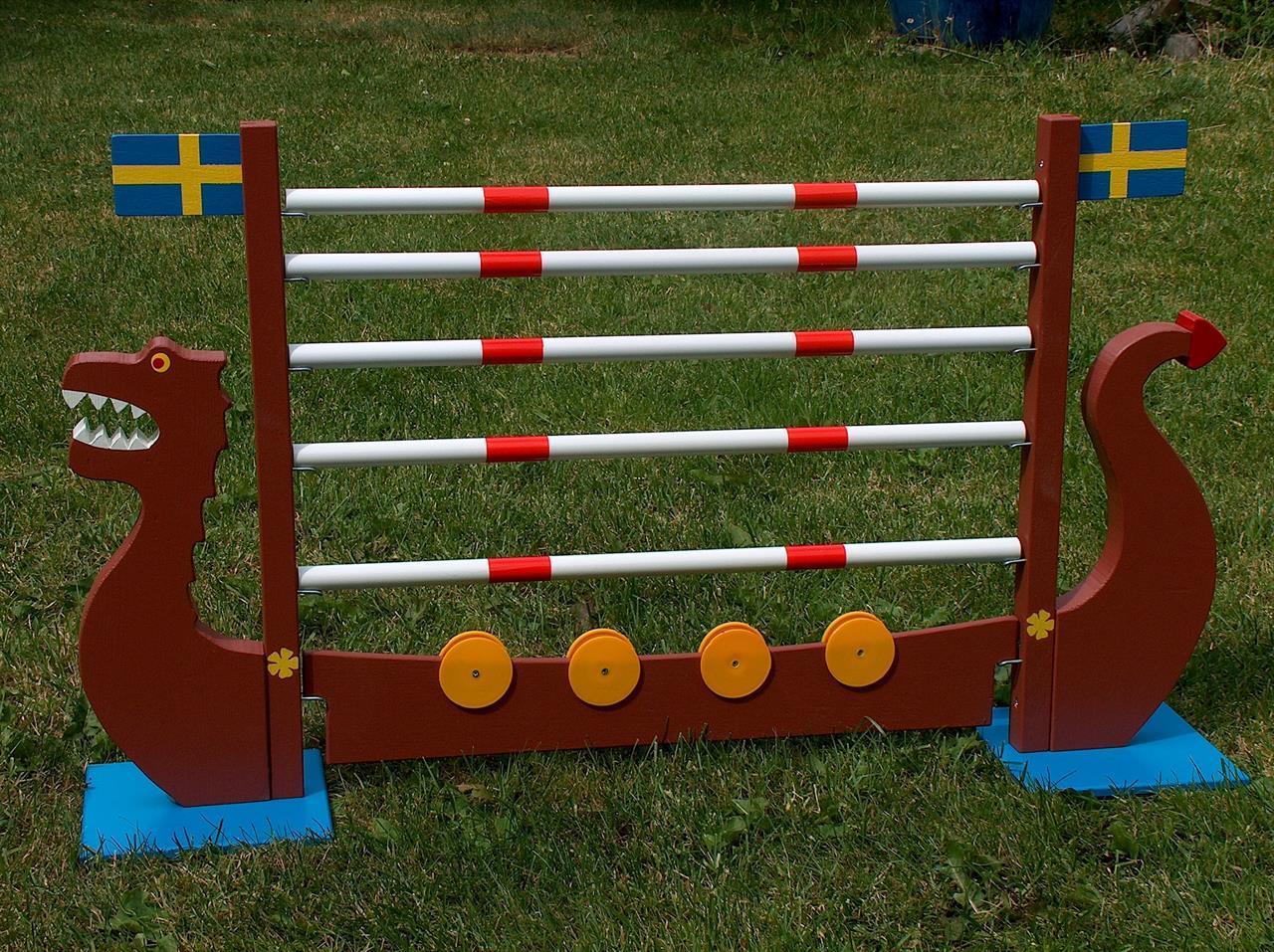 Vikingaskeppet med bommar