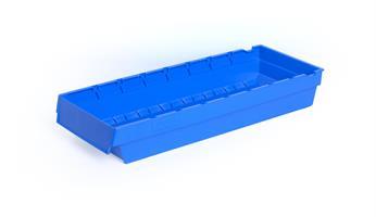 Lagerskuff 500x188x80mm blå