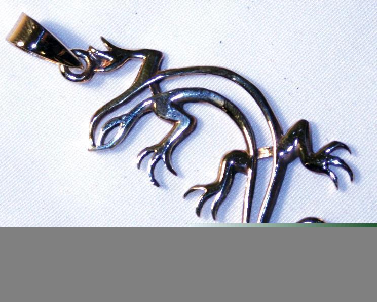 Halsband - Brons ödla (3 pack)