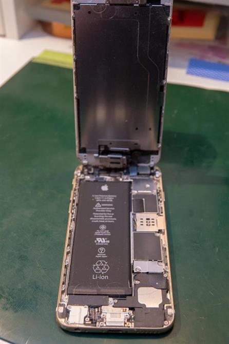 iPhone 6 innvendig