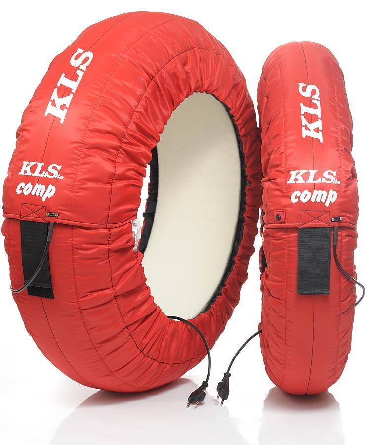 KLS-Dekkvarmere Comp/rød