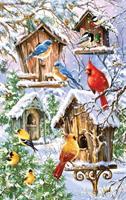Puslespill Snow birds, 550 brikker