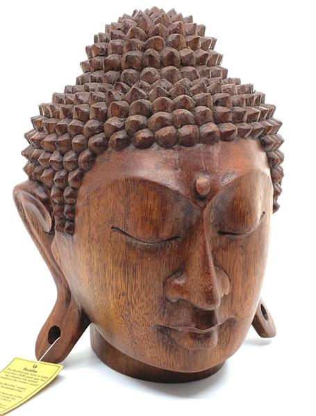 Träsniderier - Buddha staty 22cm (1 pack)