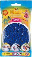 Hama perler Midi, Blå 207-08 1000stk