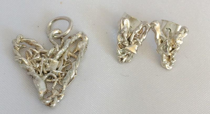 Smycken av restsilver