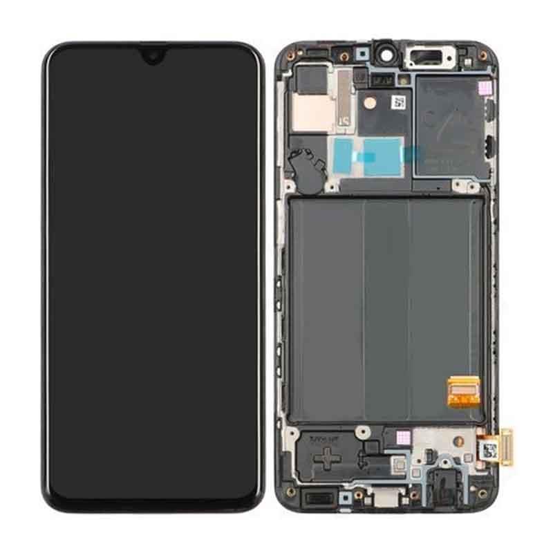 Samsung Galaxy A40 (SM-A405F) Skjerm - Sort