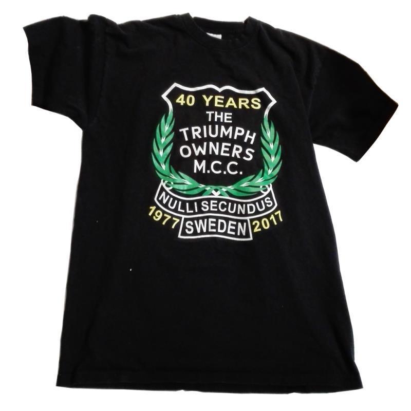 T-shirt 40 år, dam
