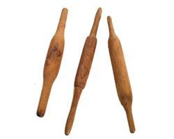 Vintage Indien - Chapati roller naturlig (10 pack)