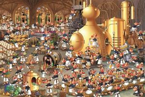 Puslespill Bryggeri 1000 brikker