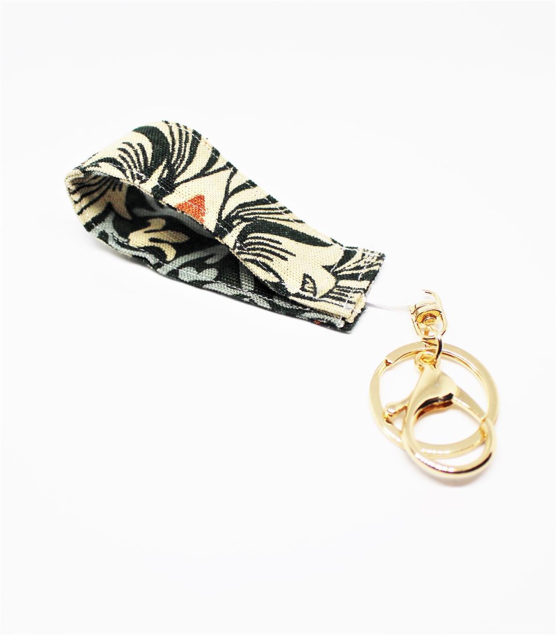 Nyckelring grön snakehead  William Morris
