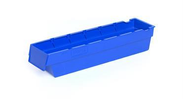 Lagerskuff 400x94x80mm blå